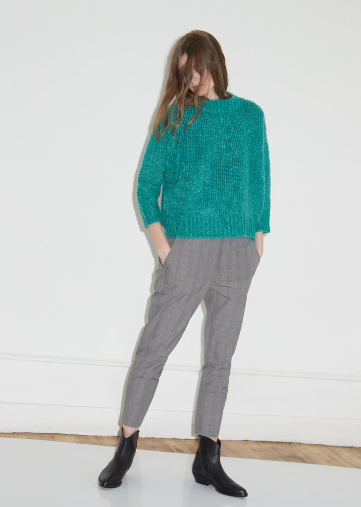 Ikara Mohair Knit Sweater