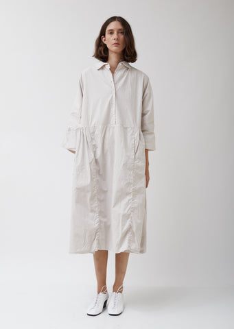 Paga Rouche Shirt Dress