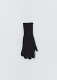 Merino Cashmere Gloves — Black