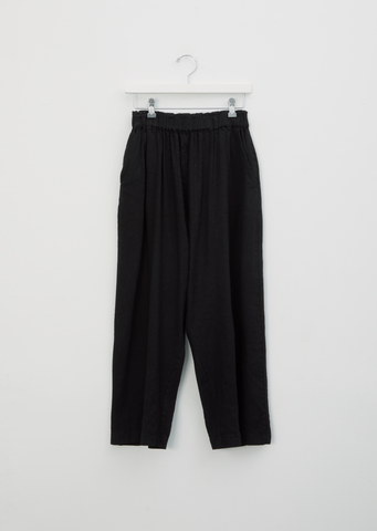 Linen & Rayon Pull On Trousers