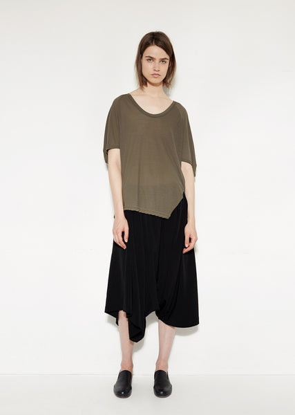 Asymmetry Sarouel Pants