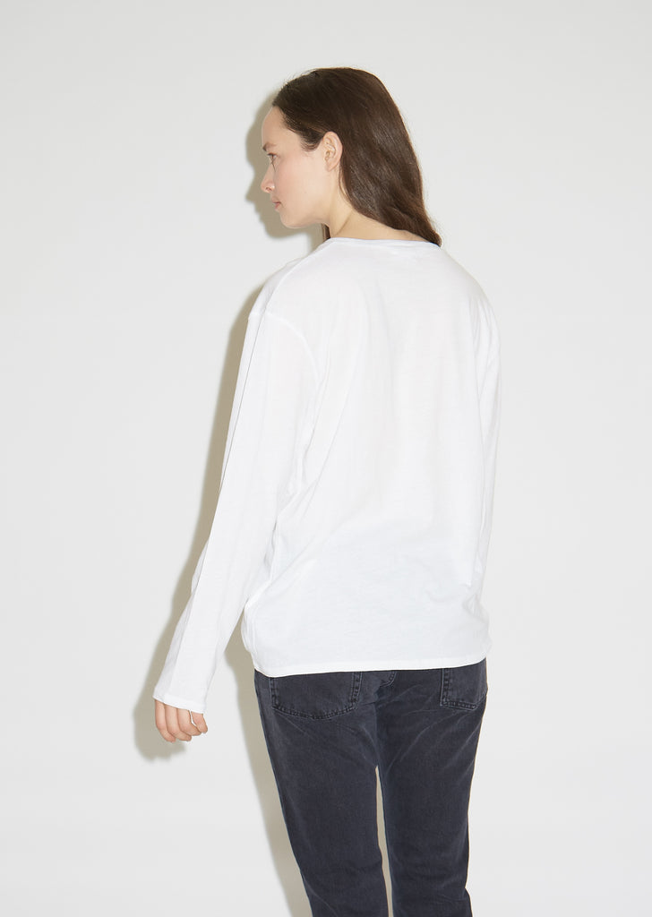 Pima Cotton Longsleeve Man Tee
