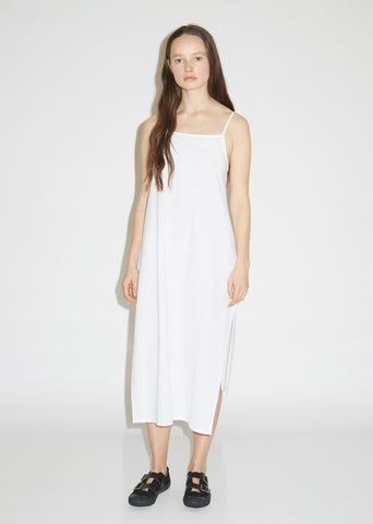 Cotton M-Slit Slip Dress