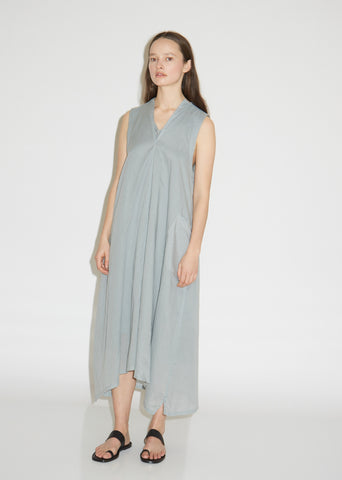 Cotton Sleeveless V Gusset Dress