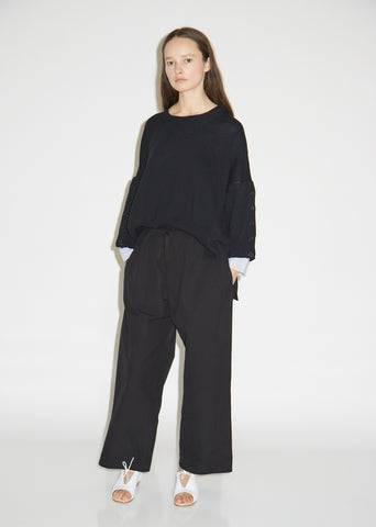 Seine Canvas Drawstring Pants