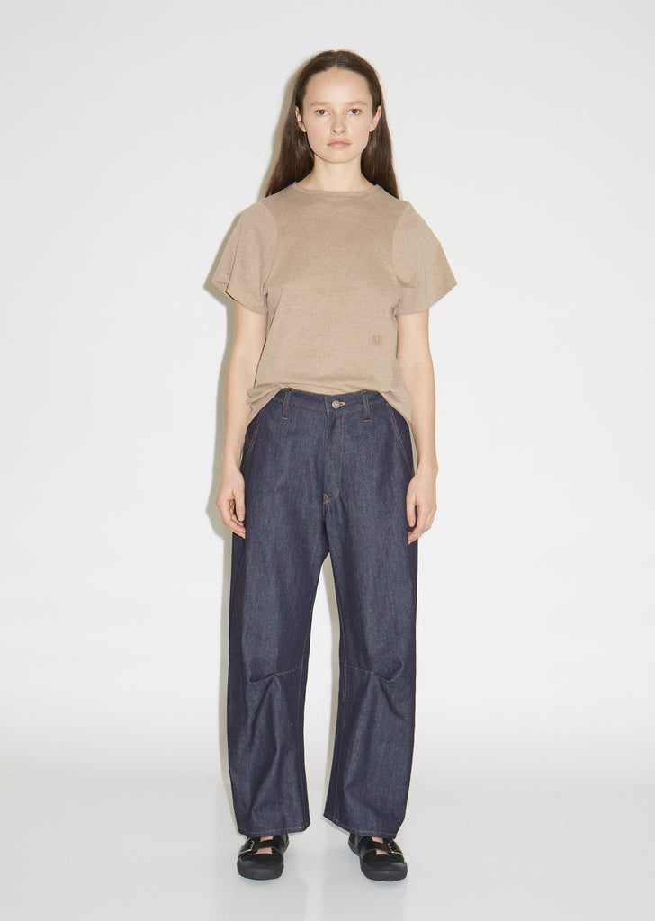 U-Gusset Denim Pants