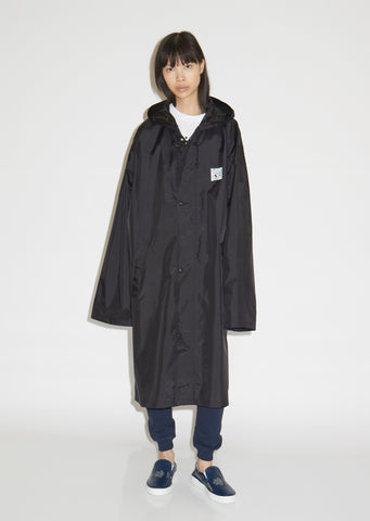 QR Code Long Raincoat