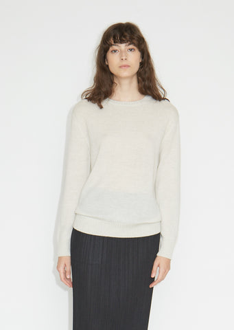 Virgin Wool Crewneck Sweater