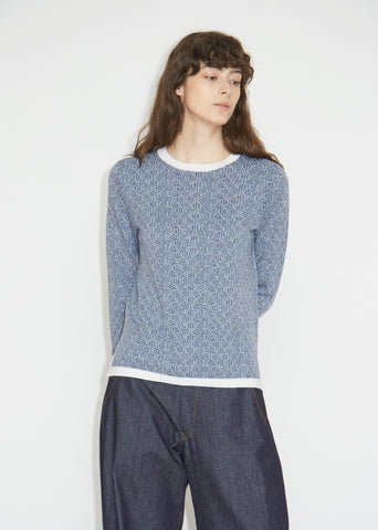 Hologram Extra Fine Merino Wool Sweater
