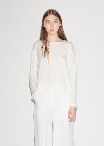 Tanfen Soft Jersey Long Sleeve Top