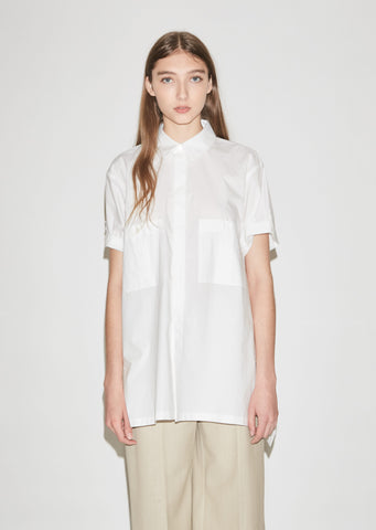 Barbeys Light Cotton Poplin Shirt