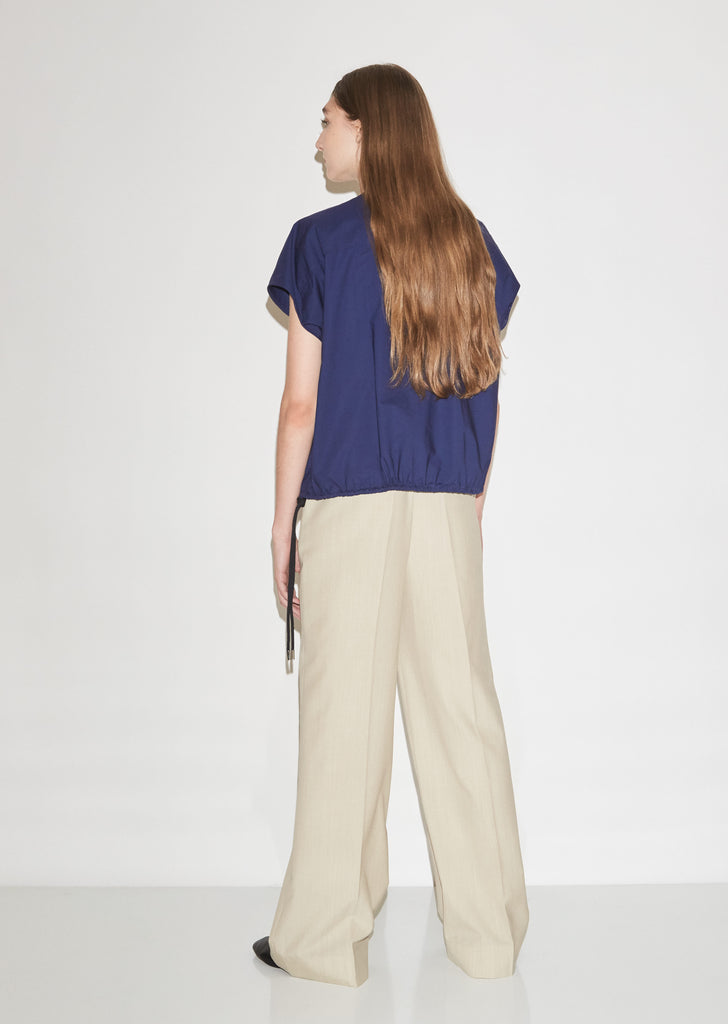 Light Wool Suiting Pants