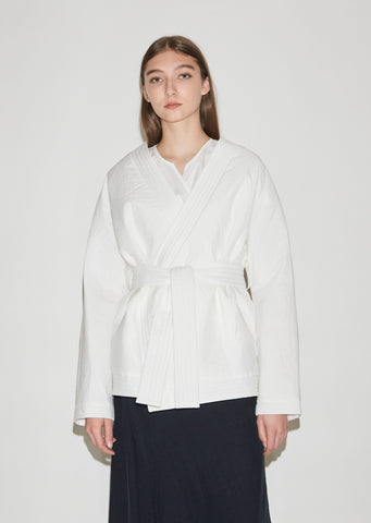 Jolien Quilted Cotton Jacket