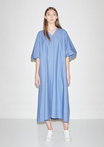 Dynasty Cotton Poplin Dress