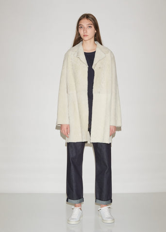 Leandra Fur Shearling Coat