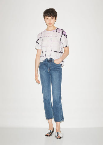 Cropped Flare Rigid Jeans