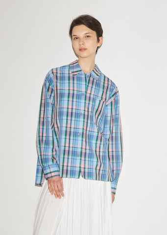 Venice Check Button Down