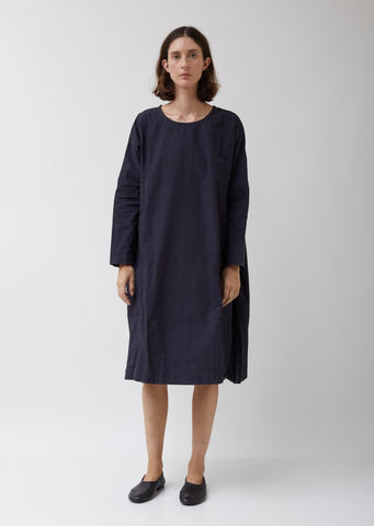 Pyj Rouch Dress in Navy