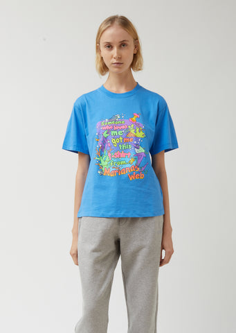 Cropped Vacation T-Shirt