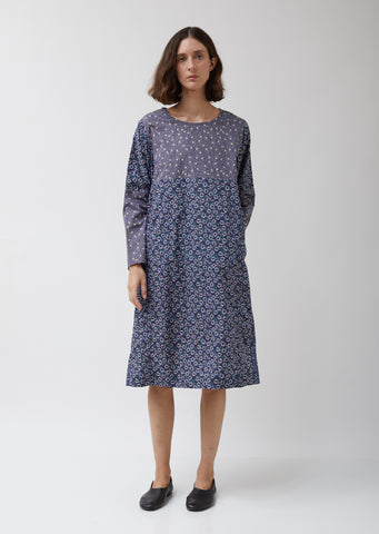 Pyj Rouch Dress in Floral Print