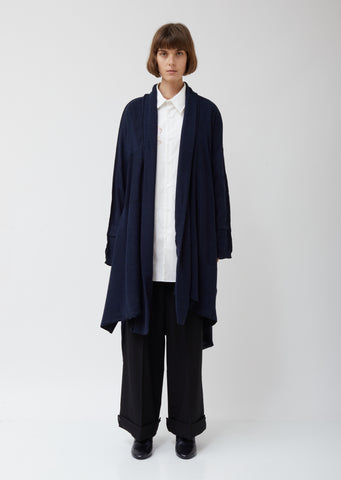 Long Paneled Cardigan