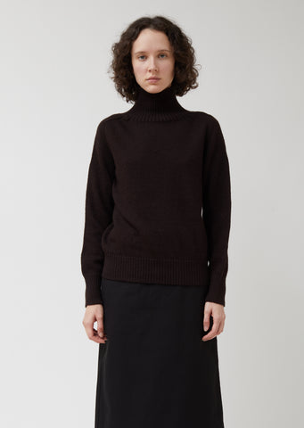 MHL Saddle Sleeve Roll Neck Sweater