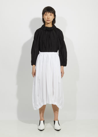 Cotton Broadcloth Skirt