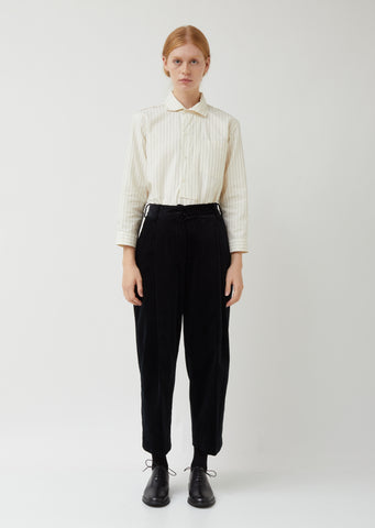 Deep Pleat Trouser