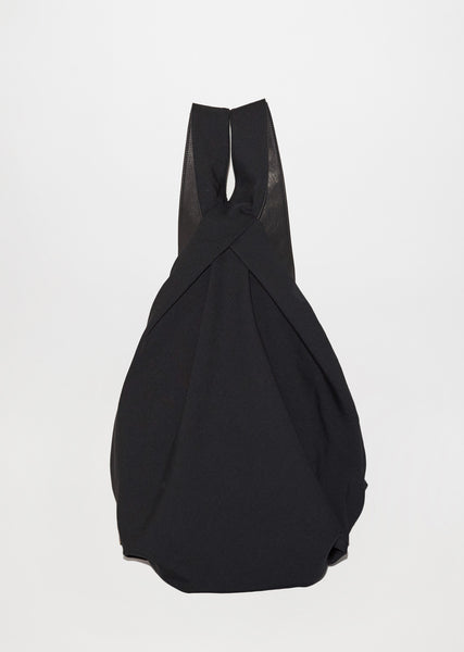 Wrinkle Gabardine Drape Backpack