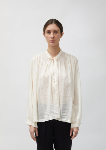 Cotton & Silk Voile Bohemian Shirt