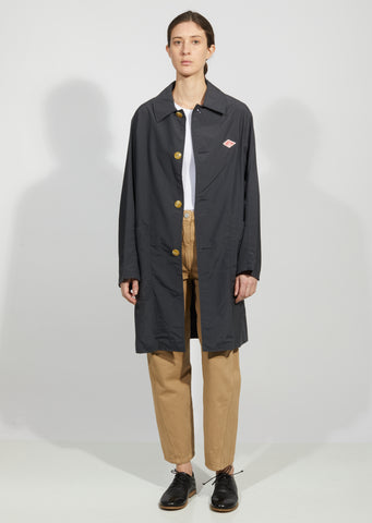 Men's Nylon Taffeta Mac Coat