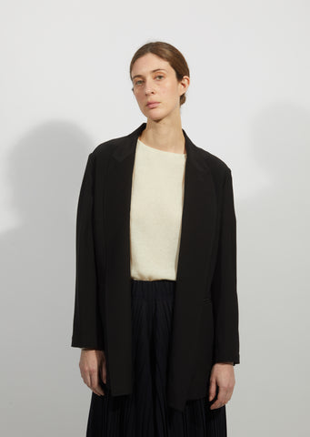 Loose Silk Jacket
