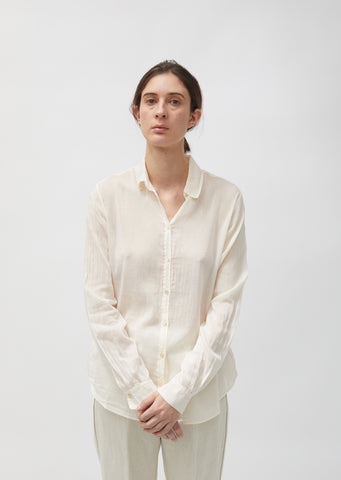 Cotton & Silk Voile Shirt