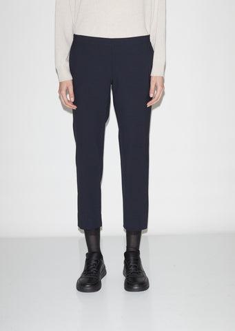 Wool Pull On Trouser