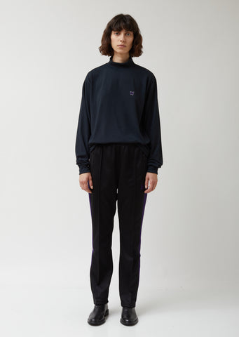 Poly Smooth Narrow Track Pant