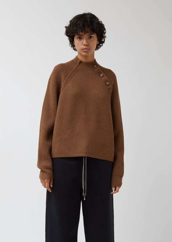 Kabby Sporty Wool Sweater