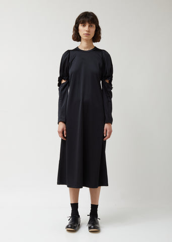 Triacetate Polyester Tricot Dress