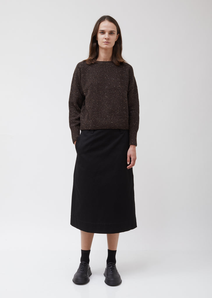 Donegal Crew Neck Cashmere Sweater