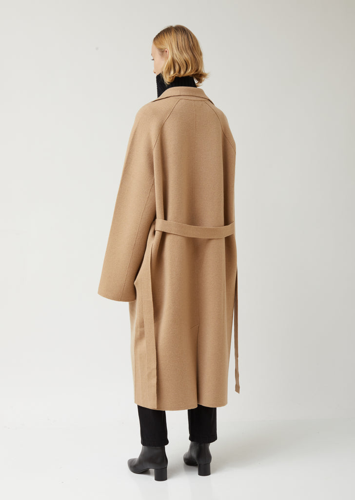 Cashmere Knitted Coat