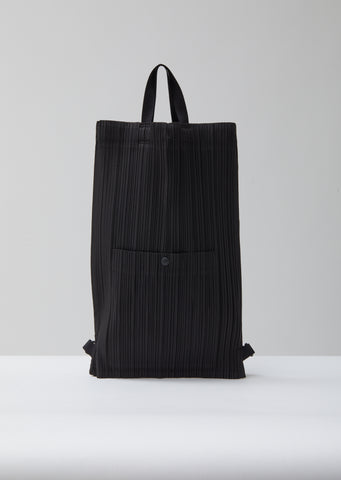 Light Weight Pleats Backpack