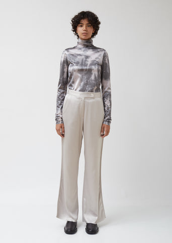 Pamila Fluid Tech Satin Trousers
