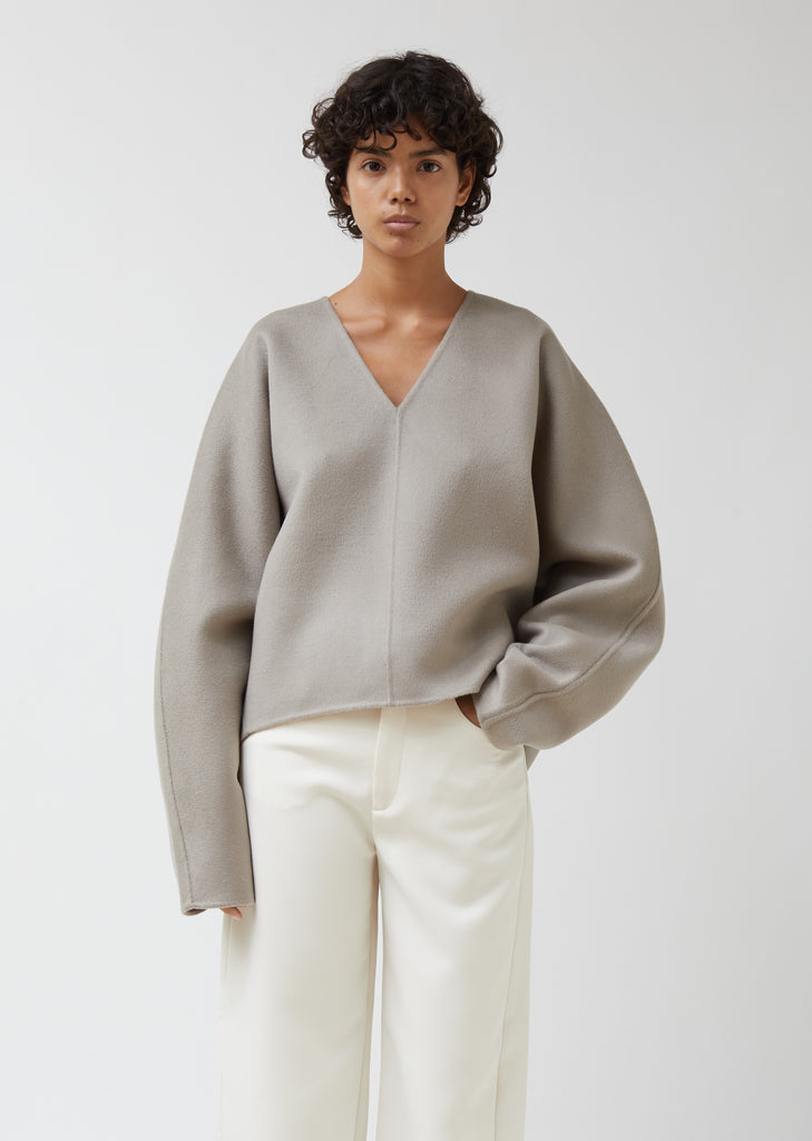 Rennes Wool Popover