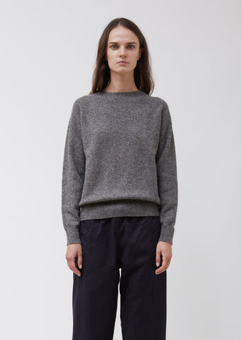 Classic Donegal Cashmere Crew Neck Sweater