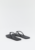 Square Toe Scented Rubber Flip Flops