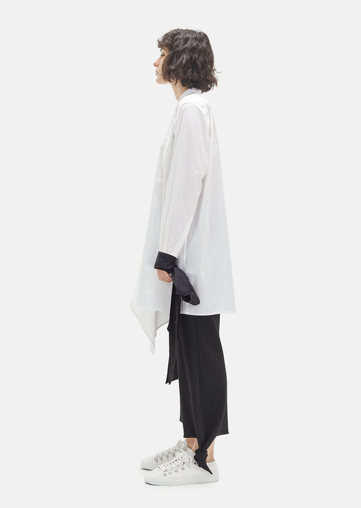 Cotton Asymmetrical Shirt