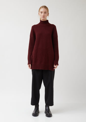 Cozy Cashmere Roll Neck Sweater