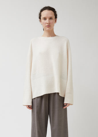 New Wide Rib Cashmere Sweater