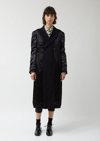 Wool Flannel Garment Treated Coat