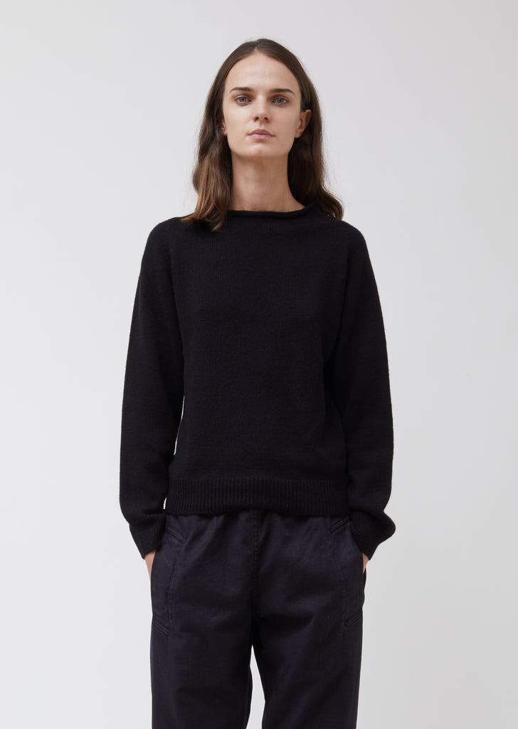 Cotton & Cashmere Rollneck Sweater