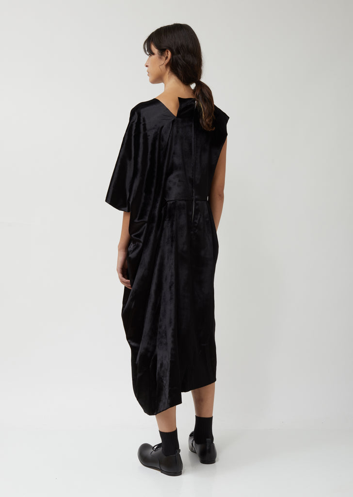 Rayon Silk Velvet Dress